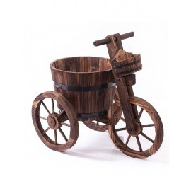 Bici Legno Portavaso 65x37x57,5