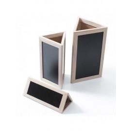 Lavagna Legno Tridimensionale Set3pz 25x13x15