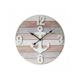 Orologio Legno Mdf Ancora D60