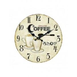 Orologio Legno Coffee Cm34
