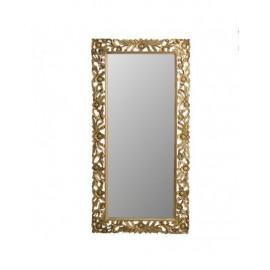 Specchio Acacia Oro Fiori 90x180