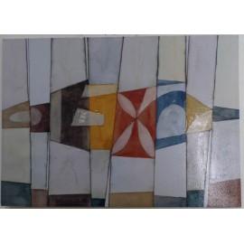 Quadro Dipinto Astratto 70x50