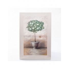 Quadro Dipinto Mele Verdi 40x60h3