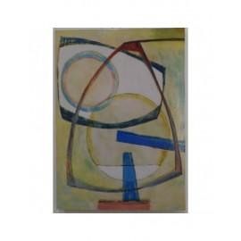 Quadro Dipinto Astratto 50x70