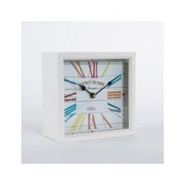 Orologio Metallo Da Tavolo 20x20