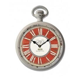 Orologio Metallo Rosso 28x22