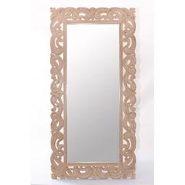 Specchio Mango Mdf Intagliato 90h180